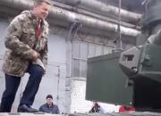 Ляшко на танку